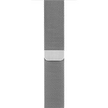 Apple 42mm Milanese Loop Silver Watch Band